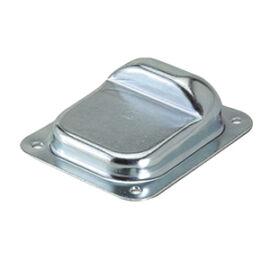 Szárnyaskapu ütköző csavarozható, kicsi 100x120 mm
