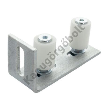 Felső vezető 2x Ø30 mm. állítható konzol
