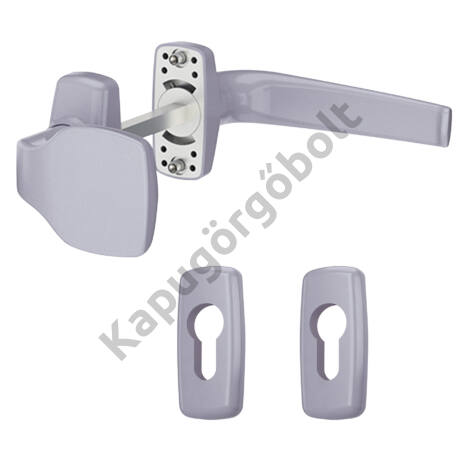 Gombkilincs-garnitúra ezüst Merkury