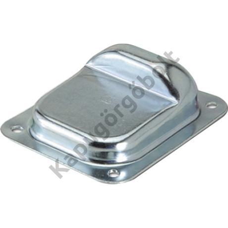 Szárnyaskapu ütköző csavarozható  /nagy  138x158 mm/